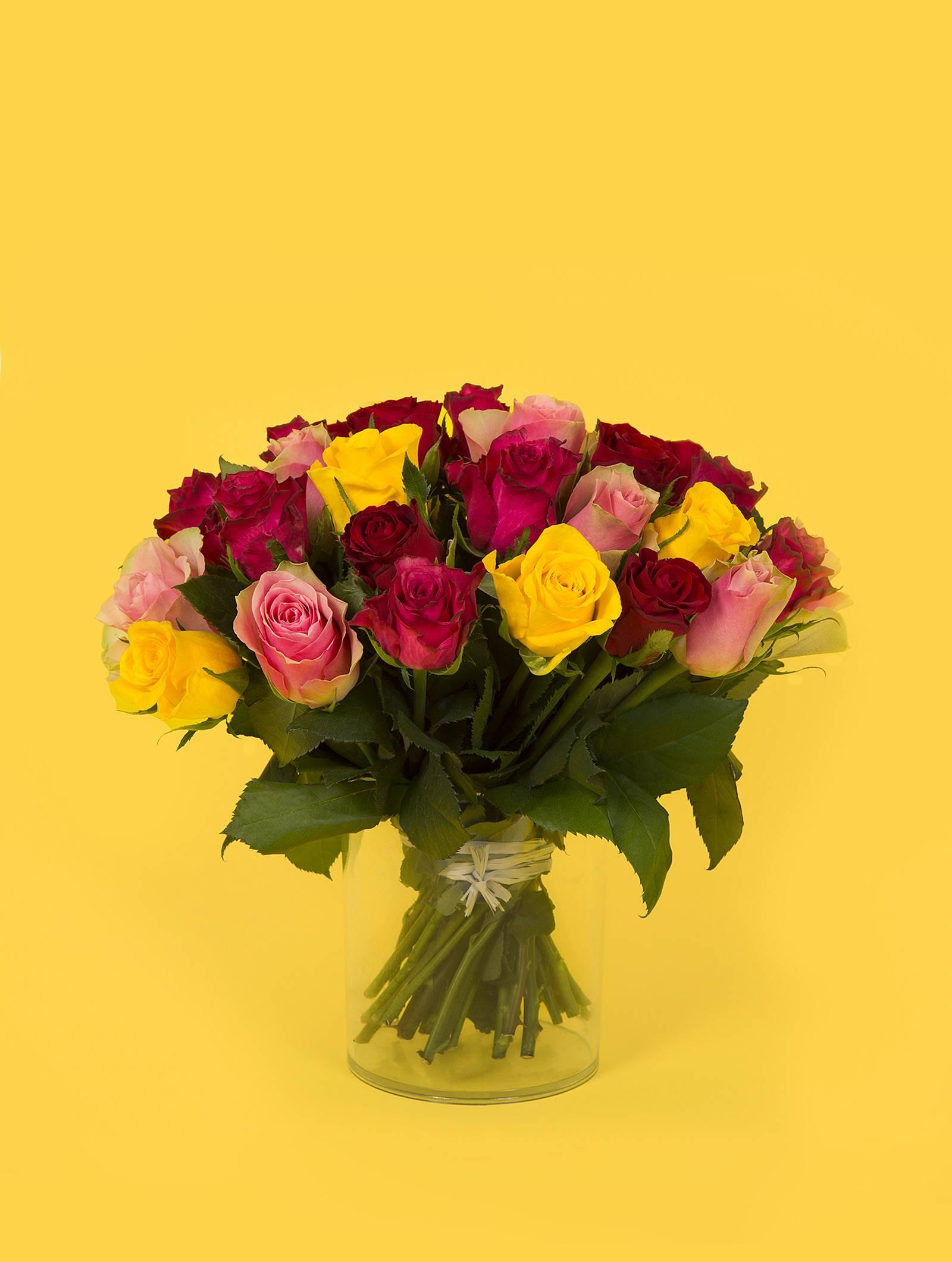bouquet mamie chérie fleurs fête des grands mères