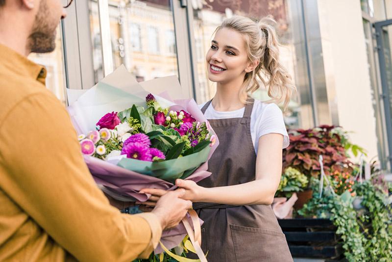 acheter un bouquet de fleurs
