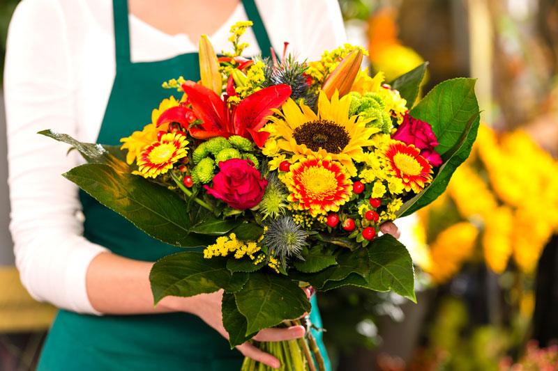Achat de fleurs